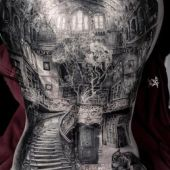 amaizing back tattoo