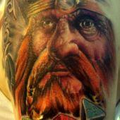 tatuaże 3D wiking