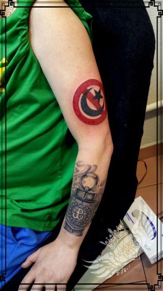 anty islam tattoo / tatuaż patriotyczny