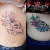 zając tatuaż