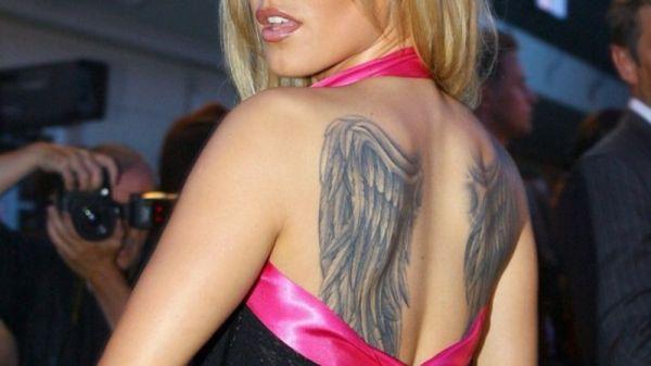 Tatuaż Skrzydła Na Plecach Dody