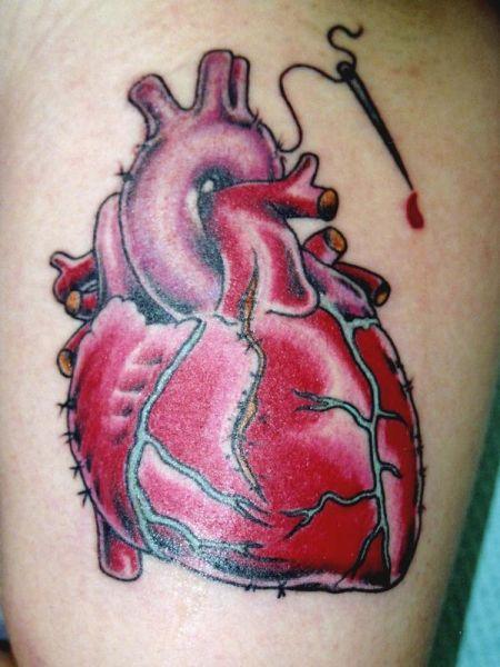 tatuaż serca