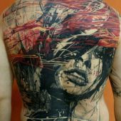 art back tattoo
