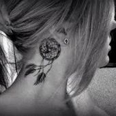 dreamcatcher tattoo neck