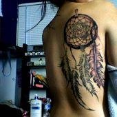 dreamcatcher tattoo girl