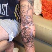 tatuaże na rękę z czaszką