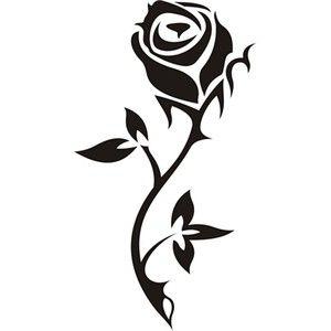 Tatuaż Róży