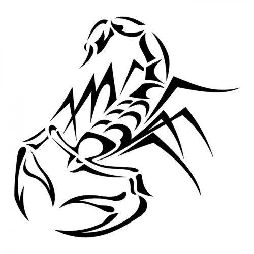 Wzory Tatuaży Tribal Tribal Skorpion