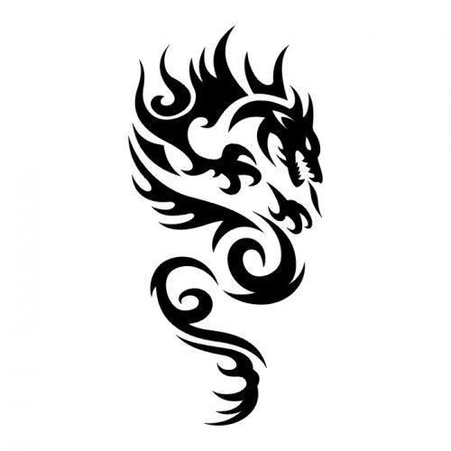 Wzory Tatuaży Tribal Tribal Smok