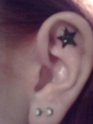 gwiazdka na uchu