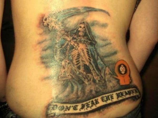 tatuaże śmierć