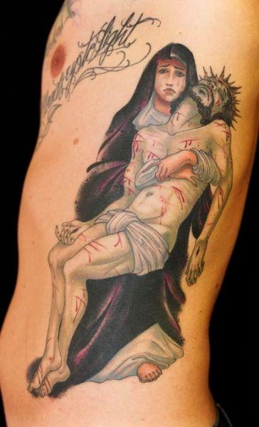 Chrystus zdjęty z krzyża