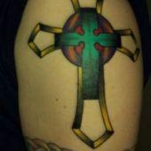 celtycki krzyż tatuaż
