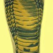 wąż-kobra tatuaż