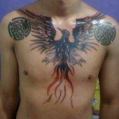 phoenix na piersi