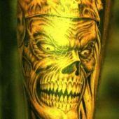 czaszka - demon