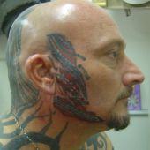cool head tattoo