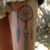 tattoo leg Dreamcatcher