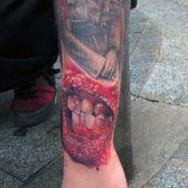 tatuaże 3d na ręce