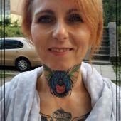 A.art.Tattoo tatuaż na szyi