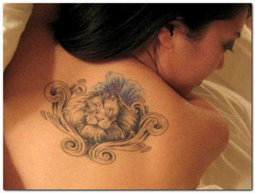 lew na plecach