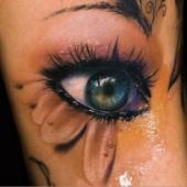 eye 3D tattoo